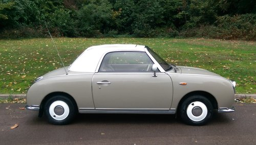 Nissan Figaro.. Rare Topaz Mist.. Low Miles.. Nice Example SOLD (picture 6 of 6)