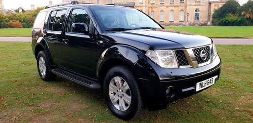 2006 LHD NISSAN PATHFINDER TEKNA,7 SEATER LEFT HAND DRIVE For Sale (picture 1 of 6)