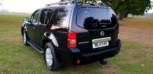 2006 LHD NISSAN PATHFINDER TEKNA,7 SEATER LEFT HAND DRIVE For Sale (picture 3 of 6)