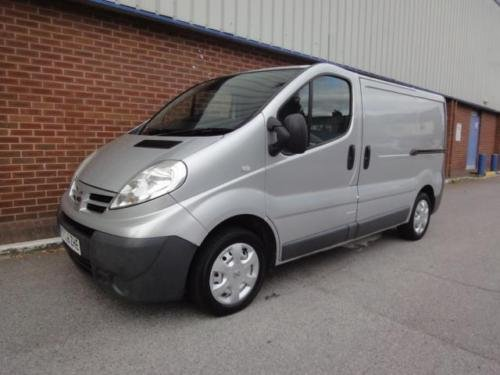 2007 NISSAN PRIMASTAR VAUXHALL VIVARO 2.0 dCi SE Van 115ps For Sale (picture 1 of 6)