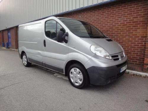 2007 NISSAN PRIMASTAR VAUXHALL VIVARO 2.0 dCi SE Van 115ps For Sale (picture 4 of 6)