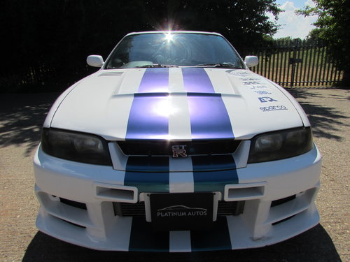 Nissan R33 GTR 2.6 Twin Turbo 1996 400 BHP For Sale (picture 2 of 6)