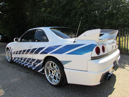 Nissan R33 GTR 2.6 Twin Turbo 1996 400 BHP For Sale (picture 5 of 6)