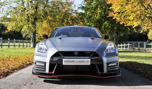 2017 Nissan GT-R Nismo 3.8 (600) - in Ultimate Stealth Grey SOLD (picture 3 of 6)