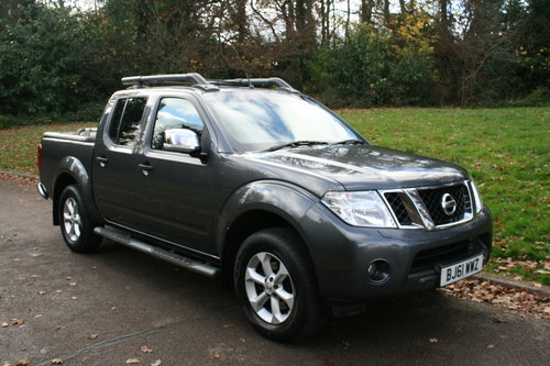 2011 Nissan Navara Tekna. 2.5 DCi. Double Cab Pickup. Hi Spec.  SOLD (picture 1 of 6)