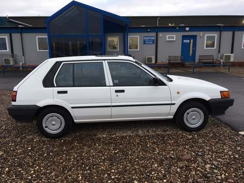 1988 Nissan Sunny GS at Morris Leslie Auction 23rd February  SOLD by Auction (picture 3 of 6)