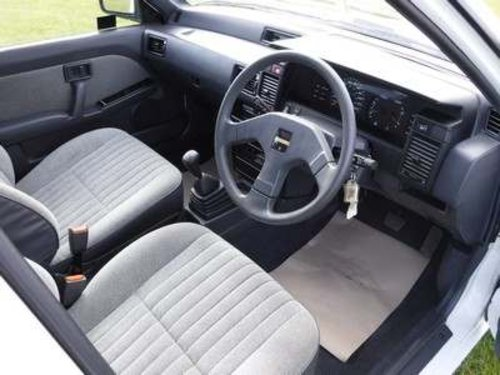 1988 Nissan Sunny GS at Morris Leslie Auction 23rd February  SOLD by Auction (picture 4 of 6)
