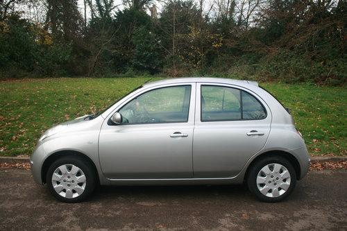 Nissan Micra SE.. Only 18,750 Miles.. 5 Door Hatchback SOLD (picture 1 of 6)