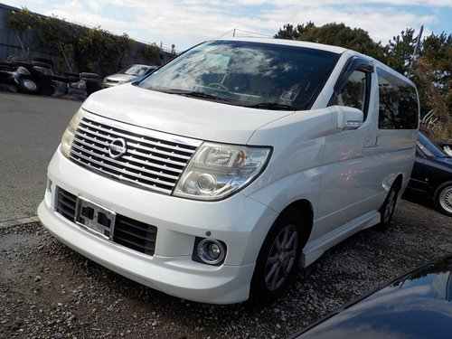 2005 NISSAN ELGRAND NISSAN ELGRAND 3.5 XL 4WD 7 SEATS SUNROOFS SOLD (picture 1 of 6)