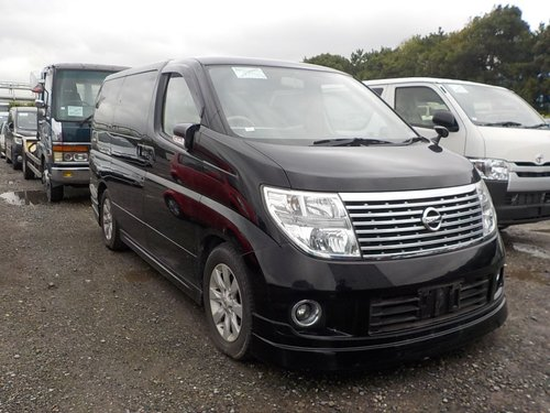 NISSAN ELGRAND 2007 E51 3.5 HIGH SPEC X MODEL * 8 SEATER *  For Sale (picture 1 of 6)