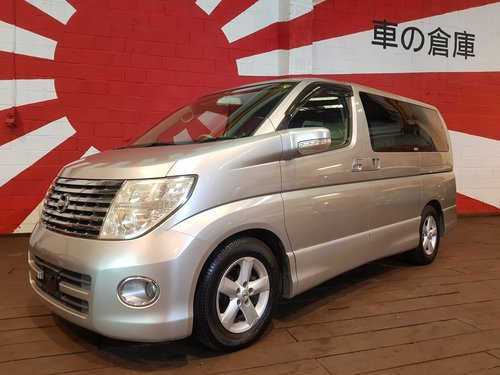 2006 NISSAN ELGRAND FACELIFT HIGHWAY STAR 2.5 E51 ME51 AUTOMATIC SOLD (picture 1 of 6)