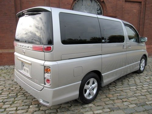 2006 NISSAN ELGRAND FACELIFT HIGHWAY STAR 2.5 E51 ME51 AUTOMATIC SOLD (picture 2 of 6)