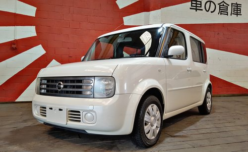 2004 NISSAN CUBE CUBIC 7 SEATS 1.4 AUTOMATIC * PEARL WHITE For Sale (picture 1 of 6)