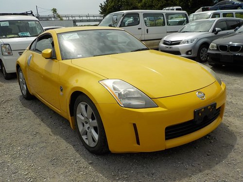 2005 NISSAN 350Z 3.5 FAIRLADY Z COUPE Z33 VERSION T * LEATHER  For Sale (picture 1 of 6)