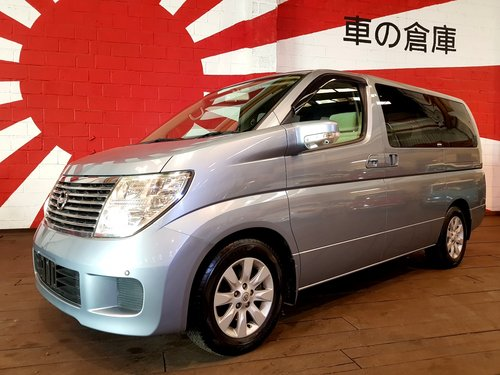 2004 NISSAN ELGRAND 3.5 AUTOMATIC * 8 SEATER TWIN POWER DOORS *  SOLD (picture 1 of 6)