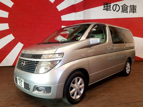 NISSAN ELGRAND 2004 3.5 AUTOMATIC 8 SEATER CAMPER For Sale (picture 1 of 6)