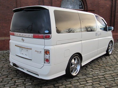 2006 NISSAN ELGRAND 2.5 RIDER S 4X4 ONLY 49000 MILES BODY KIT  For Sale (picture 2 of 6)