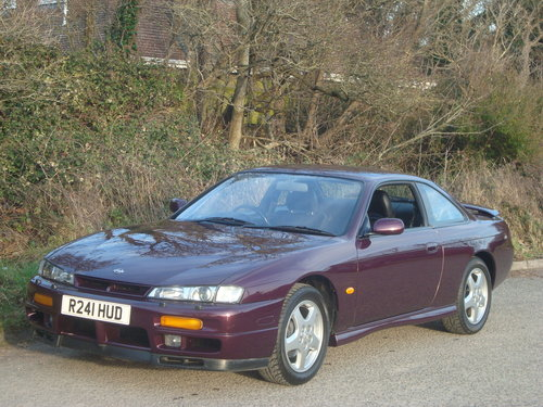1998 Nissan 200SX 2 owners 42000 miles. Superb original example. For Sale (picture 1 of 6)