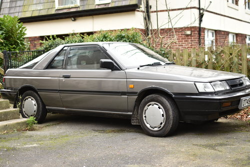 1987 Nissan Sunny coupe 1.6 rare barn find For Sale (picture 1 of 6)