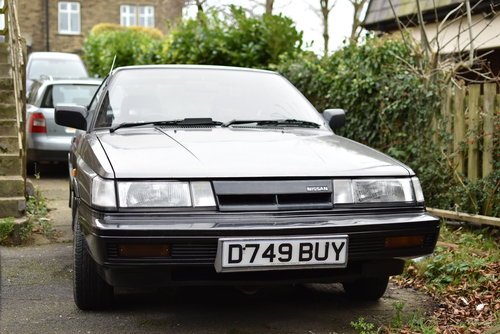 1987 Nissan Sunny coupe 1.6 rare barn find For Sale (picture 2 of 6)