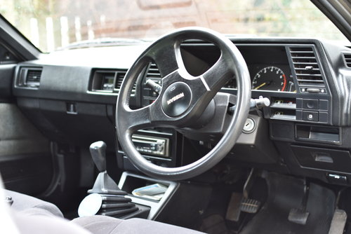 1987 Nissan Sunny coupe 1.6 rare barn find For Sale (picture 4 of 6)