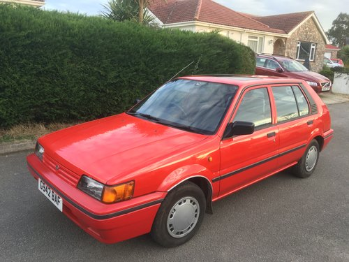 1990 Nissan Sunny GSX Auto 46000 For Sale (picture 1 of 3)
