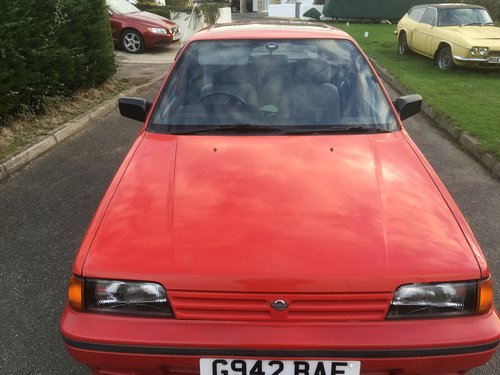 1990 Nissan Sunny GSX Auto 46000 For Sale (picture 2 of 3)