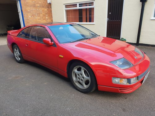 1992 Nissan 300ZX Turbo 2+2 Auto T Bar Roof For Sale (picture 1 of 6)