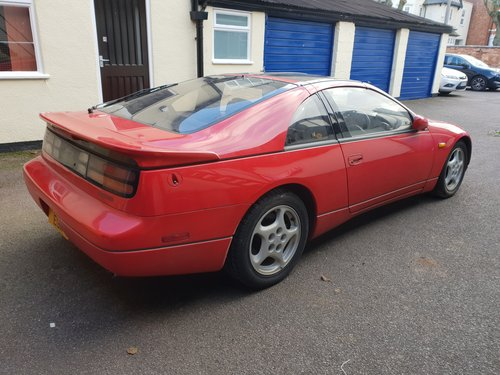 1992 Nissan 300ZX Turbo 2+2 Auto T Bar Roof For Sale (picture 2 of 6)