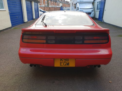 1992 Nissan 300ZX Turbo 2+2 Auto T Bar Roof For Sale (picture 3 of 6)