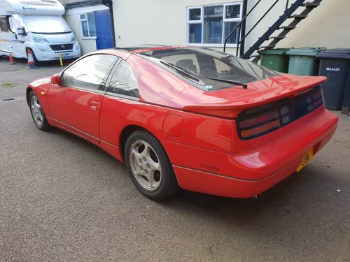 1992 Nissan 300ZX Turbo 2+2 Auto T Bar Roof For Sale (picture 4 of 6)