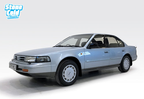 1989 Nissan Maxima 3.0i V6 auto show car condition For Sale (picture 1 of 6)
