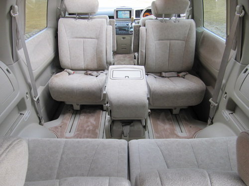 2002 NISSAN ELGRAND 3.5 TWIN SUNROOFS CURTAINS * ONLY 32000 MILES For Sale (picture 4 of 6)