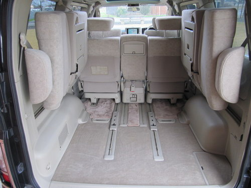 2002 NISSAN ELGRAND 3.5 TWIN SUNROOFS CURTAINS * ONLY 32000 MILES For Sale (picture 5 of 6)