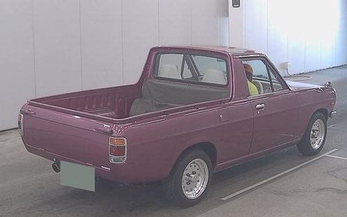 1982 NISSAN SUNNY TRUCK PICK UP 1.2 RETRO RIDE JDM UTE *  SOLD (picture 3 of 6)