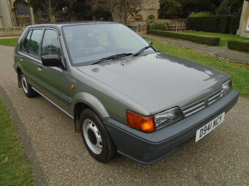 1987 Nissan Sunny 1.3 LX For Sale (picture 1 of 6)