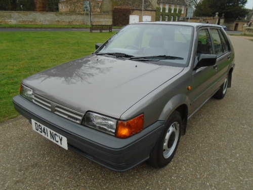 1987 Nissan Sunny 1.3 LX For Sale (picture 2 of 6)