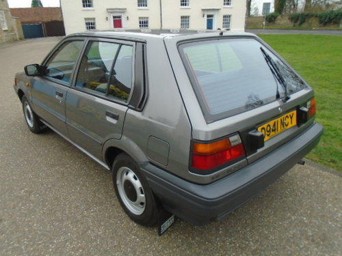1987 Nissan Sunny 1.3 LX For Sale (picture 3 of 6)