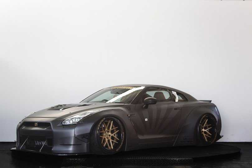 2010 Liberty Walk Nissan Gt R 650bhp Airrex Suspension