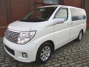 2006 NISSAN ELGRAND 2.5 V 4X4 TWIN SUNROOF & TWIN POWER DOORS  For Sale
