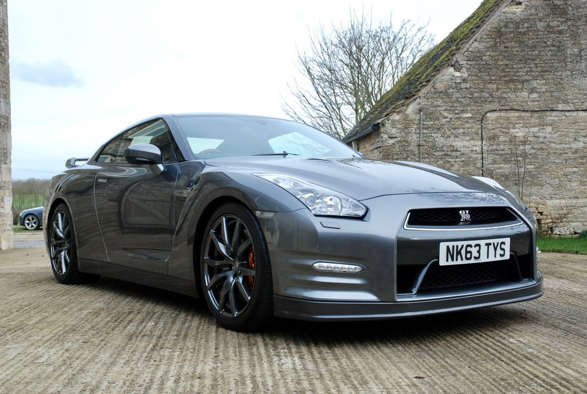 2013 Nissan GTR, Superb example ash For Sale (picture 1 of 6)