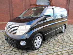 2005 NISSAN ELGRAND 2.5 HIGHWAY STAR * LOW MILEAGE * 8 SEATER  For Sale