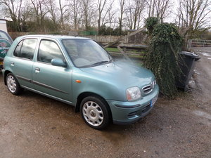 2002 14,700 Miles Only  Nissam Micra 1ltr S.E  5 DOOR  2020 MOT  For Sale
