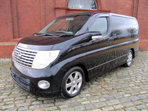 NISSAN ELGRAND 2005 E51 3.5 * HIGHWAY STAR * 8 SEATER CAMPER For Sale
