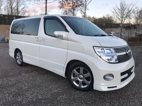 2008 FRESH IMPORT NISSAN ELGRAND HIGHWAY STAR 4WD LEATHER ED For Sale (picture 1 of 6)