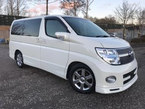 2008 FRESH IMPORT NISSAN ELGRAND HIGHWAY STAR 4WD LEATHER ED