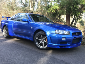 1999 GTR -34 RARE MUST BE SEEN***BAYSIDE BLUE***