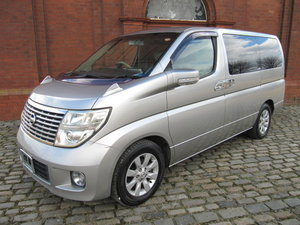 2005 NISSAN ELGRAND E51 3.5 XL LEATHER * TWIN POWER DOORS