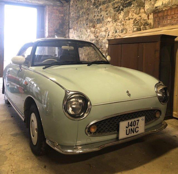 1992 Nissan Figaro For Sale by Auction 23rd February SOLD by Auction (picture 1 of 6)