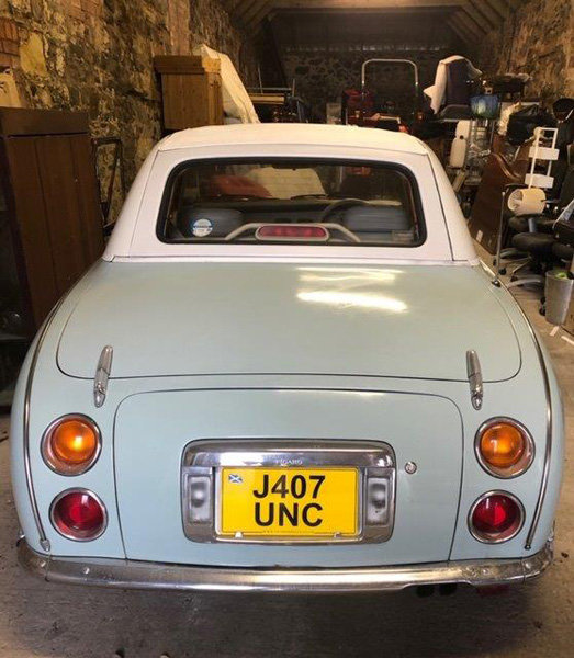 1992 Nissan Figaro For Sale by Auction 23rd February SOLD by Auction (picture 3 of 6)